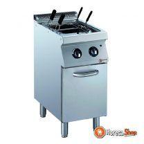 Elektrische pastakoker 24,5 liter. op kast (zonder manden)