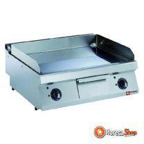 Elecktrische vlakke verchroomde kookplaat -top-