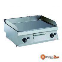 Hard verchroomde kookplaten op gas, vlak -top-