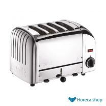 Vario broodrooster 4 sleuven rvs 40352