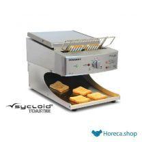 Sycloid grill toaster - rvs bandbroodrooster met bun functie