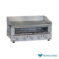 Griddle toaster kookplaat 700x400 mm